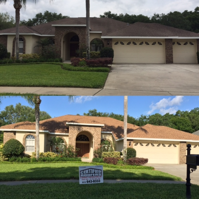 Roof Replacement And Repair Brandon Fl Certified Roofer